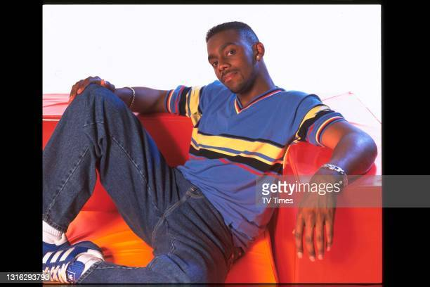 Comedian and television presenter Richard Blackwood, circa 1998.