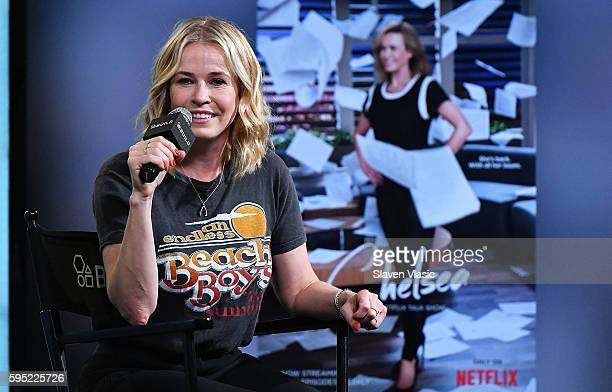 Comedian and TV host Chelsea Handler discusses the new season of her hit Netflix show Chelsea at AOL Build at AOL HQ on August 25 2016 in New York...