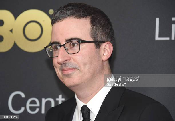 Comedian and TV host John Oliver attends the 2018 Lincoln Center American Songbook gala honoring HBO's Richard Plepler at Alice Tully Hall Lincoln...
