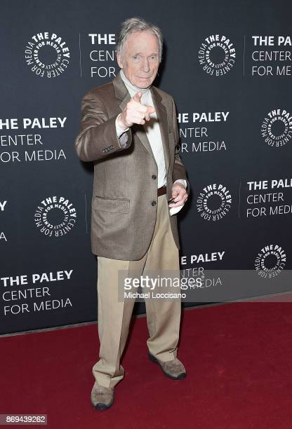 Comedian and TV personality Dick Cavett attends A Paley Honors Luncheon celebrating Alec Baldwin at The Paley Center for Media on November 2 2017 in...