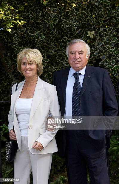 Comedian and TV personality Jimmy Tarbuck and his wife Pauline in London United Kingdom