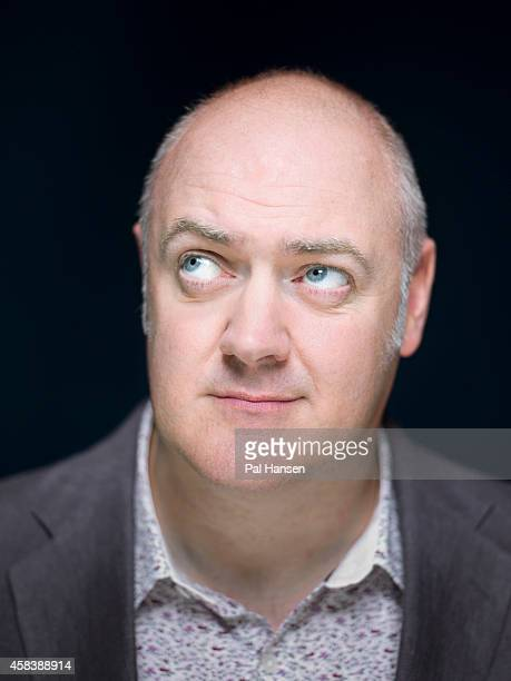 Comedian and tv presenter Dara O'Brian is photographed for the Observer on August 27 2013 in London England
