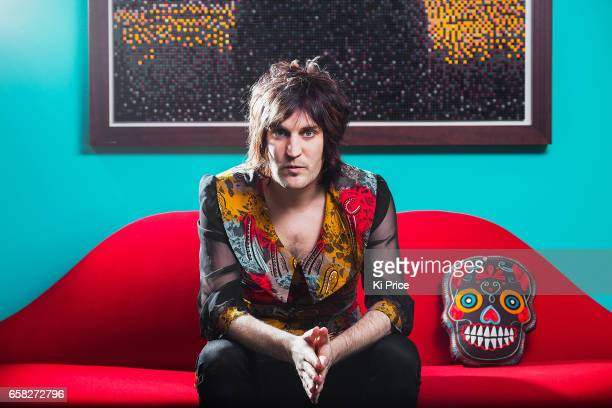 Comedian and tv presenter Noel Fielding is photographed on February 3 2013 in London England