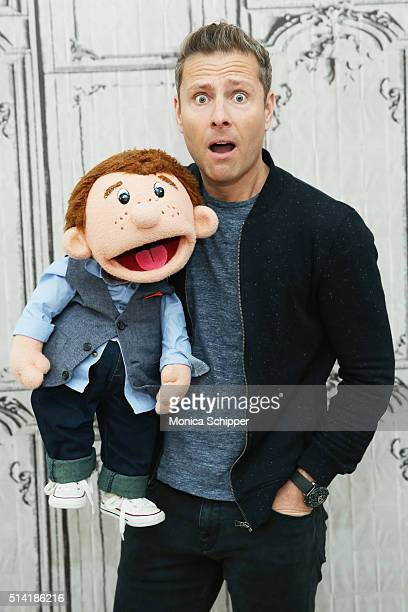 Comedian and ventriloquist Paul Zerdinat attends the AOL Build Speakers Series to discuss America's Got Talent at AOL Studios on March 7 2016 in New...