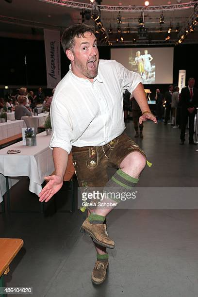 Comedian Andre Hartmann during the Angermaier TrachtenNacht 2015 at Postpalast in Munich on September 3 2015 in Munich Germany