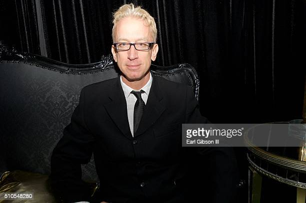 Comedian Andy Dick attends the City Gala Fundraiser 2016 at The Playboy Mansion on February 15 2016 in Los Angeles California
