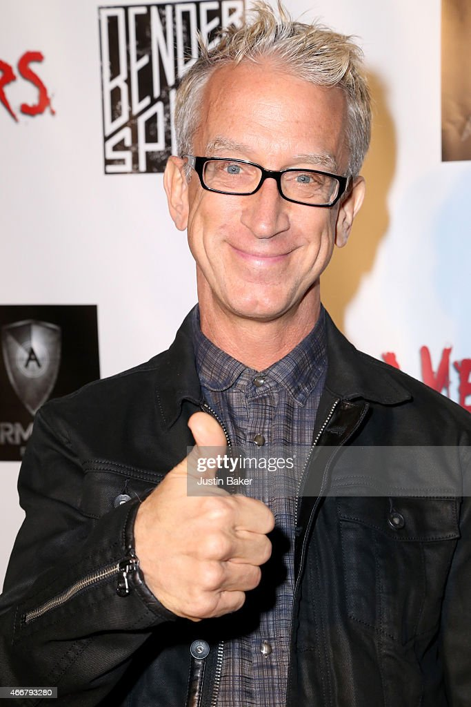 Comedian Andy Dick attends the premiere of Freestyle Releasing's new film 'Zombeavers' at The Theatre At The Ace Hotel on March 18, 2015 in Los Angeles, California.