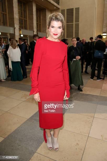 Comedian Anke Engelke attends the Lola German Film Award reception at Palais am Funkturm on May 3 2019 in Berlin Germany