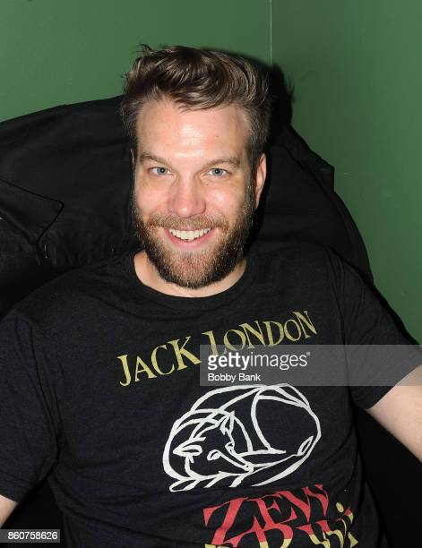 Comedian Anthony Jeselnik backstage at The Stress Factory Comedy Club on October 12 2017 in New Brunswick New Jersey