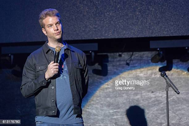 Comedian Anthony Jeselnik performs at the 7th Annual Right To Laugh at Avalon Hollywood on October 6 2016 in Hollywood California