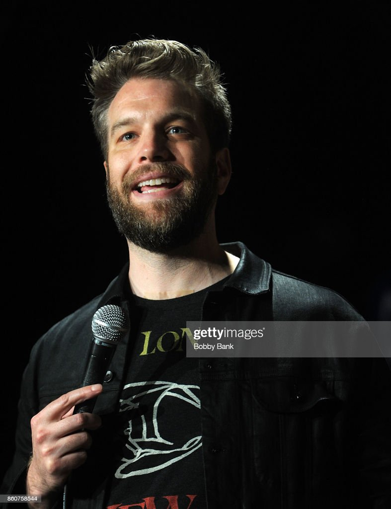 Comedian Anthony Jeselnik performs at The Stress Factory Comedy Club on October 12, 2017 in New Brunswick, New Jersey.