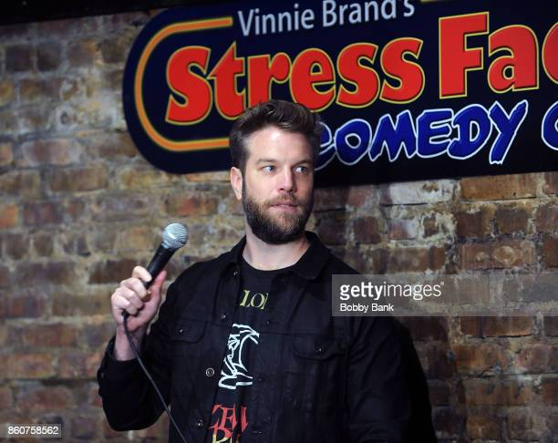 Comedian Anthony Jeselnik performs at The Stress Factory Comedy Club on October 12 2017 in New Brunswick New Jersey