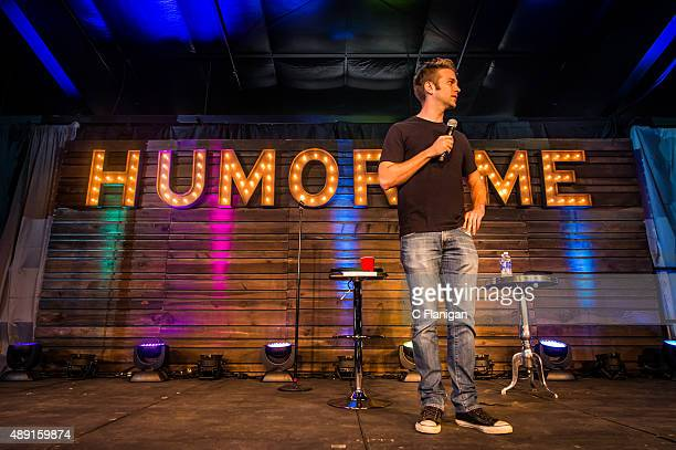 Comedian Anthony Jeselnik performs during the 2015 KAABOO Del Mar at the Del Mar Fairgrounds on September 18 2015 in Del Mar California