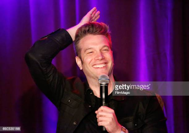 Comedian Anthony Jeselnik performs onstage at Room 415 Comedy Club during Colossal Clusterfest at Civic Center Plaza and The Bill Graham Civic...