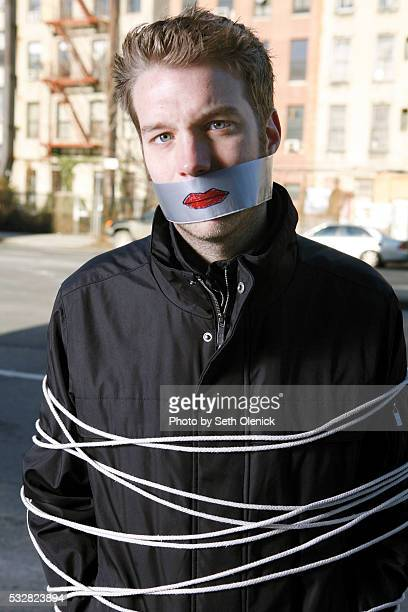 Comedian Anthony Jeselnik photographed in the Lower East Side of Manhattan December 2008 Photo taken as part of 'Funny Business' the book by Seth...