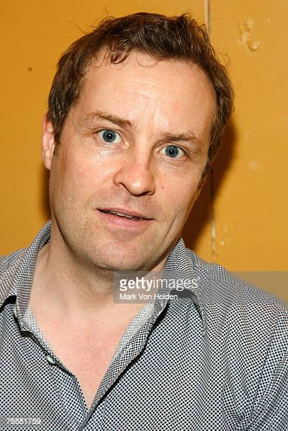 Comedian Ardal O'Hanlon backstage at Club Soda during the Just for Laughs Festival on July 20 in Montreal