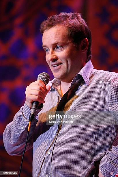 Comedian Ardal O'Hanlon performs at Theatre St Denis during the Just for Laughs Festival on July 20 in Montreal