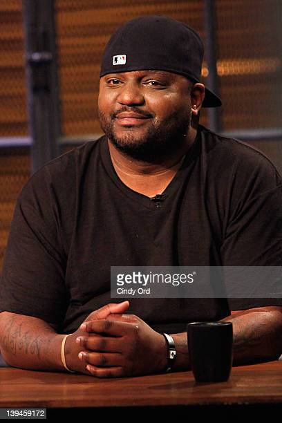 Comedian Aries Spears visits fuse Studios on February 21 2012 in New York City
