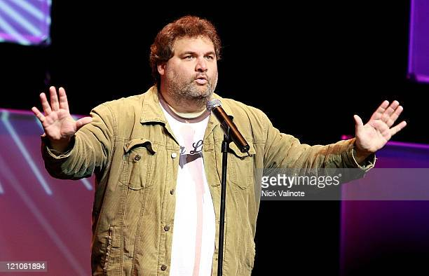 Comedian Artie Lange performs at the Borgata Event Center January 31 2009 in Atlantic City New Jersey