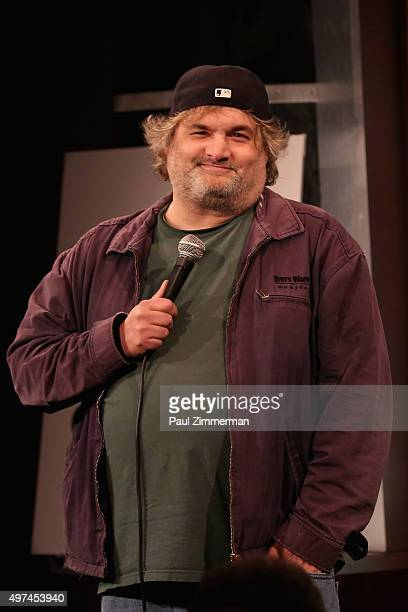 Comedian Artie Lange performs onstage during the 10th Annual Laugh For Sight NYC AllStar Comedy Benefit at Gotham Comedy Club on November 16 2015 in...