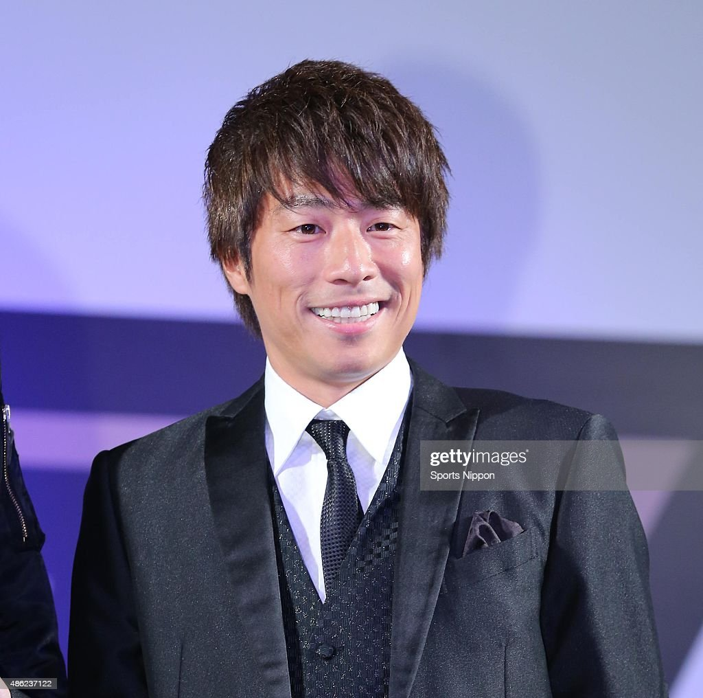 Atsushi Tamura of London Boots attends the 'Toyota Velfire Legend D projects' event : News Photo