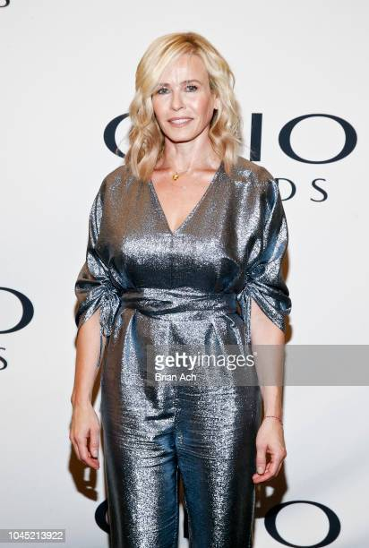 Comedian author activist and host Chelsea Handler walks the red carpet during the 59th Annual Clio Awards at The Ziegfeld Ballroom on October 3 2018...