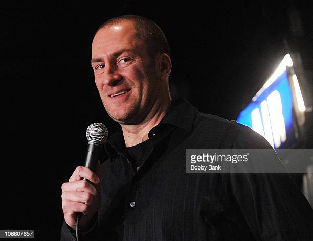 Comedian Ben Bailey perfoms at The Stress Factory Comedy Club on November 6 2010 in New Brunswick New Jersey