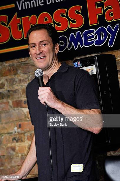Comedian Ben Bailey performs at The Stress Factory Comedy Club on August 10 2012 in New Brunswick New Jersey