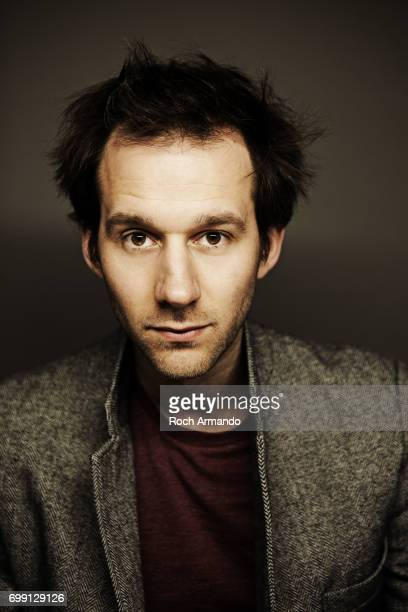 Comedian Benjamin Lavernhe is photographed for Self Assignment on March 11 2014 in Paris France