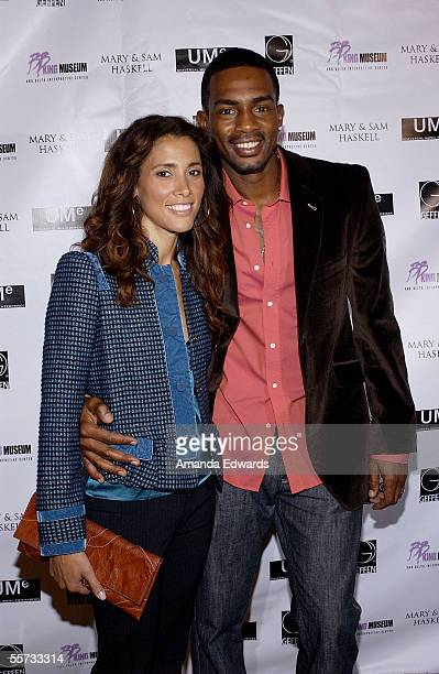 Comedian Bill Bellamy and his wife Kristen arrive at a celebration for BB King's 80th birthday at the home of Sam and Mary Haskell on September 20...