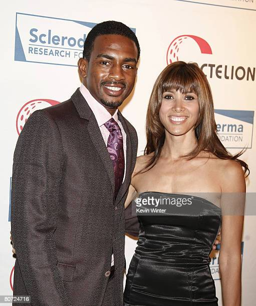 Comedian Bill Bellamy and his wife Kristen arrive at Cool Comedy Hot Cuisine benefiting the Scleroderma Research Foundation at the Beverly Wilshire...