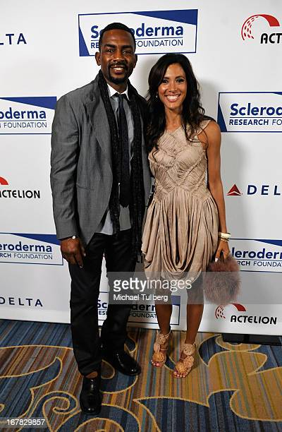 Comedian Bill Bellamy and wife Kristen attend the Cool Comedy Hot Cuisine Event To Benefit The Scleroderma Research Foundation event at Regent...