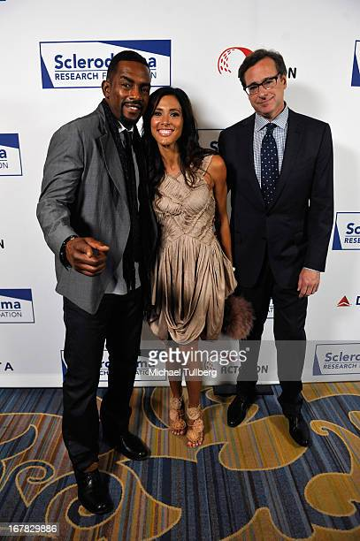 Comedian Bill Bellamy his wife Kristen and comedian Bob Saget attend the Cool Comedy Hot Cuisine Event To Benefit The Scleroderma Research Foundation...