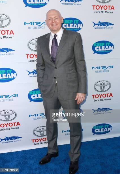 Comedian Bill Burr attends Keep it Clean Live Comedy Benefit for Waterkeeper Alliance at Avalon Hollywood on April 20 2017 in Los Angeles California