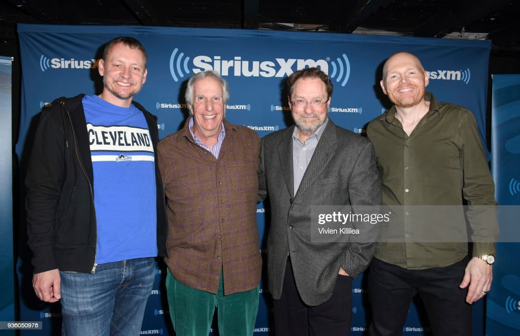 "Comedian Bill Burr hosts a SiriusXM Headliners event with the cast of ""Barry"" featuring Alec Berg, Stephen Root & Henry Winkler"