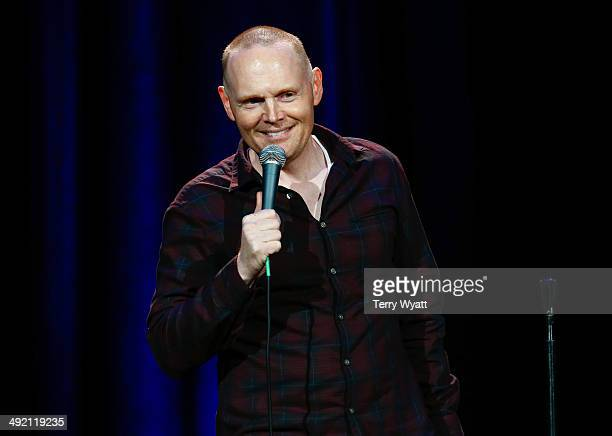 Comedian Bill Burr performs at the Bud Light Presents Wild West Comedy Festival at the Ryman Auditorium on May 18 2014 in Nashville Tennessee