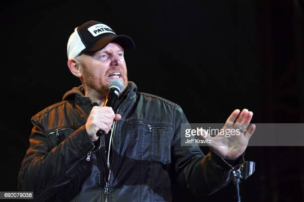 Comedian Bill Burr performs onstage at the Colossal Stage during Colossal Clusterfest at Civic Center Plaza and The Bill Graham Civic Auditorium on...