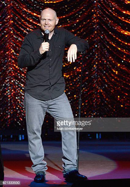 Comedian Bill Burr performs onstage during the International Myeloma Foundation 10th Annual Comedy Celebration at the Wilshire Ebell Theatre on...