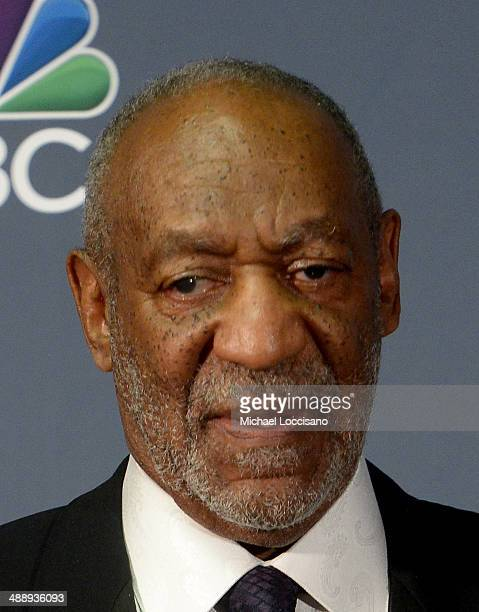 Comedian Bill Cosby addresses the Press Room during the 2014 American Comedy Awards at Hammerstein Ballroom on April 26 2014 in New York City