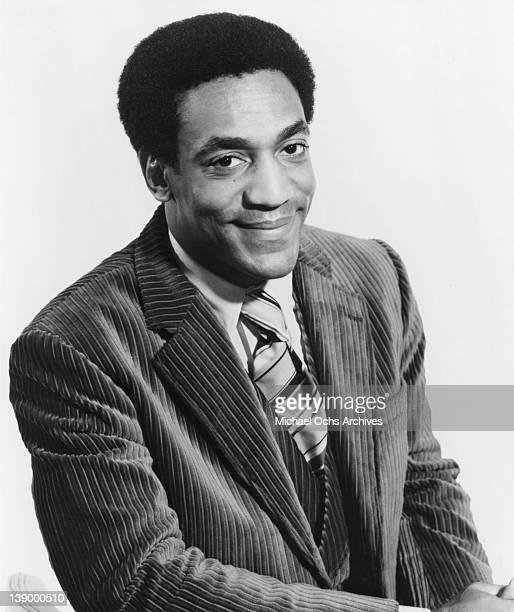 Comedian Bill Cosby poses for a portrait to promote his Tetragrammaton Records album '815 1215' in 1969 in Los Angeles California