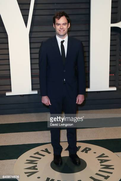 Comedian Bill Hader attends the 2017 Vanity Fair Oscar Party hosted by Graydon Carter at the Wallis Annenberg Center for the Performing Arts on...