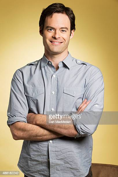 Comedian Bill Hader is photographed for USA Today on July 31 2015 in Beverly Hills California