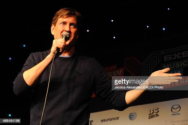 Comedian Bill Lawrence performs at The Undateable Comedy Tour during the 2015 SXSW Music Film Interactive Festival at Esther's Follies on March 15...