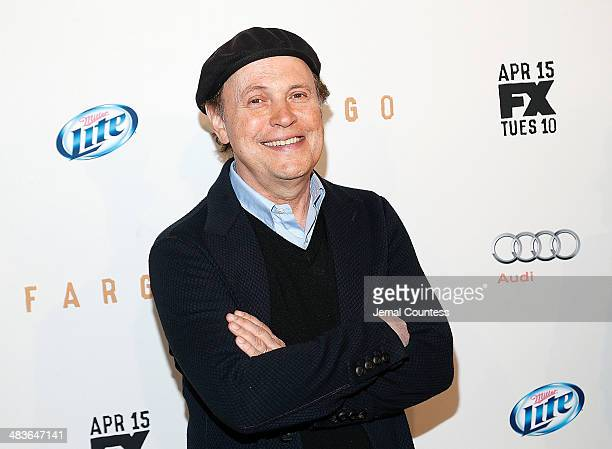 Comedian Billy Crystal attends the FX Networks Upfront screening of Fargo at SVA Theater on April 9 2014 in New York City