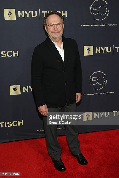 Comedian Billy Crystal attends the NYU Tisch School of the Arts 50th Anniversary Gala held at Frederick P Rose Hall Jazz at Lincoln Center on April 4...