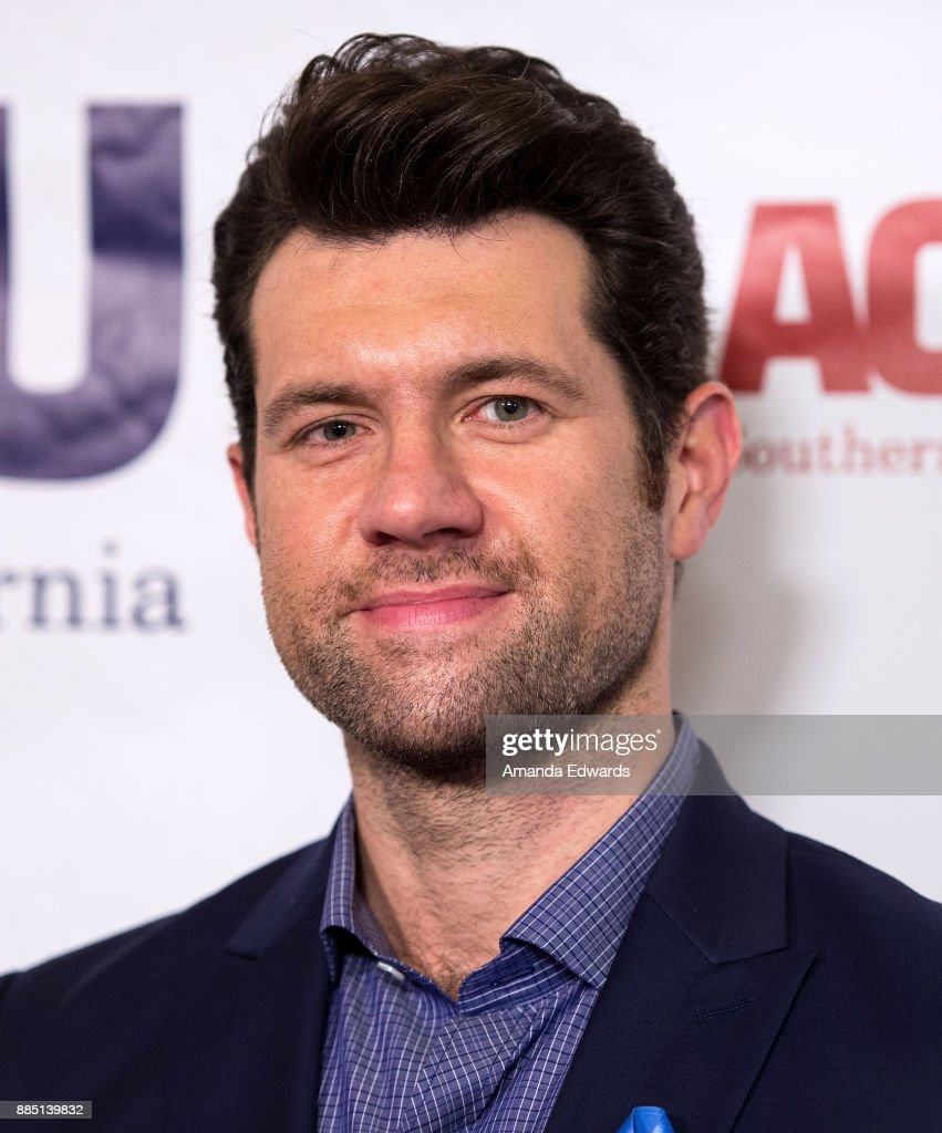 Comedian Billy Eichner arrives at ACLU SoCal's Annual Bill of Rights Dinner at the Beverly Wilshire Four Seasons Hotel on December 3, 2017 in Beverly Hills, California.