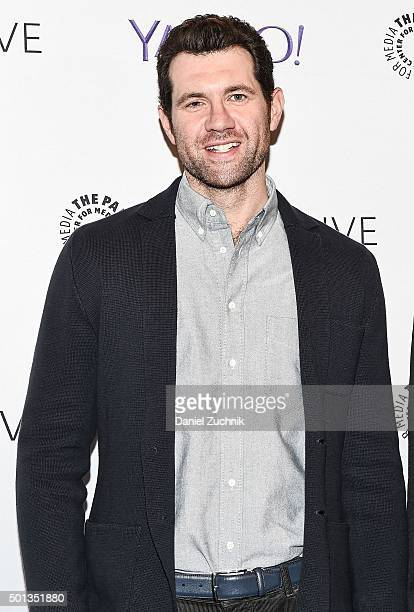 Comedian Billy Eichner attends PaleyLive An Evening With Billy On The Street at Paley Center For Media on December 14 2015 in New York City