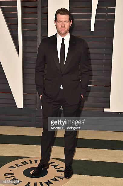 Comedian Billy Eichner attends the 2015 Vanity Fair Oscar Party hosted by Graydon Carter at Wallis Annenberg Center for the Performing Arts on...