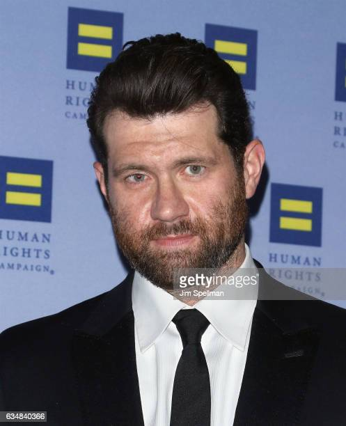 Comedian Billy Eichner attends the 2017 Human Rights Campaign Greater New York Gala at The Waldorf Astoria on February 11 2017 in New York City