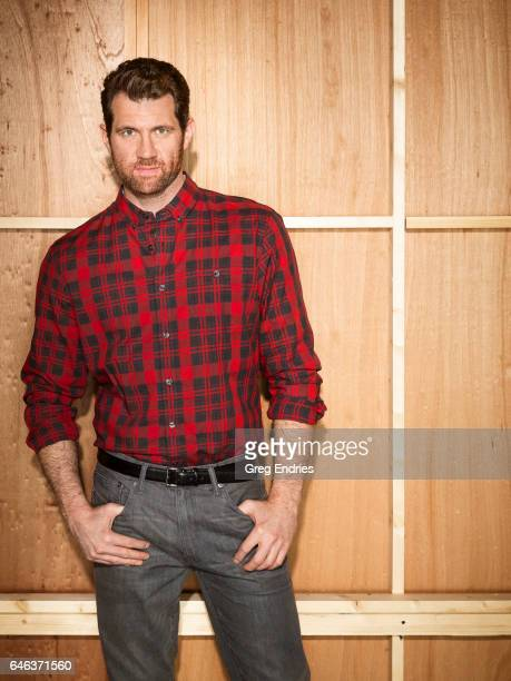 Comedian Billy Eichner is photographed for Emmy Magazine on February 5 2016 in New York City